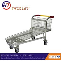 Heavy Duty Warehouse Cargo Trolley for Transport Goos in Supermarket