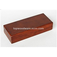 Brown Matt Frinish Wooden Pen Collection Packing Gift Boxs