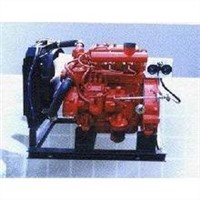Fire fighting equipment-Diesel engine powered