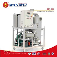 KRJ-100 Fire Resistant Oil Purifier
