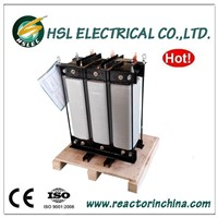 Three phase iron core load reactor for electrical load banks