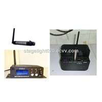 2.4G dmx wireless transmitter receiver,dj light equipment