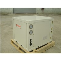 Ground source heat pump 28KW for house heating and hot water, CE R410A