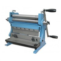 combined manual shear brake roll 3 in 1 machine
