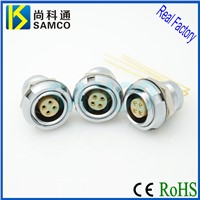 00B/0B/1B/2B/3B Metal Circular Push Pull Self Self Latching Connector