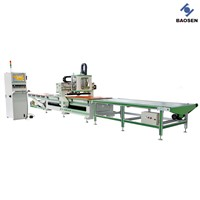 Three-Axis Ball Screw CNC Machining Center With Loading And Unloading System
