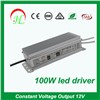110v 220v 12v LED strip light transformer 100w