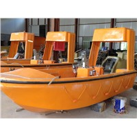 GRB40R Outboard engine rescue boat with SOLAS approval
