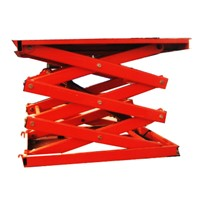 Stationary Scissor Lift with Double Fork Frame