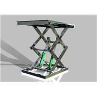 Stationary Scissor Lift with Multi Fork Frame