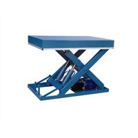 Stationary Scissor Lift with Single Fork Frame