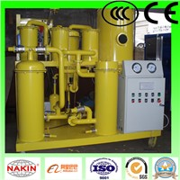 China vacuum lubricating oil purifier, lubricant oil purifier machine