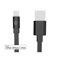 mfi flat usb cables for iphone cable 2.4a, 8 pin nylon mfi USB cables for iphone