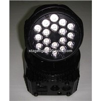 18x3W Mini Wash LED Christmas Lights,RGB Moving Head Wash