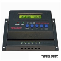 20A to 60A pwm solar charge controller WELLSEE WS-C2430