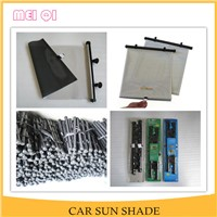 Hot sale side window baby roll up car sun shade
