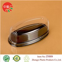 blister packing disposable plastic cake container box