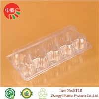 disposable plastic clamshell egg tray