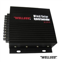 hybrid system controller Wellsee WS-WSC30 wind solar hybrid charge controller