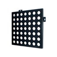 Round Hole Perforated Aluminum Panels With Surface Coating PVDF