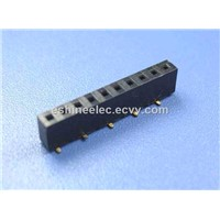 Square Pin Equivalent JST 1.27MM Box Header Through - hole Connector For BT alarm button,