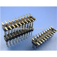 Alternative 0.8x1.2MM Pin Headerconnector,Motherboard / PCB Right Angle Type