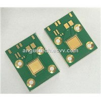 Copper based PCB with green mask