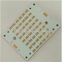 Copper based PCB with special holes
