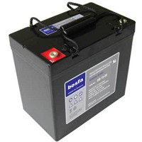 GB12-55 valve regulated lead acid battery 12v 55ah lead acid battery for ups