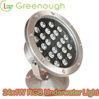 LED Underwater Pool Light/LED Marine Lights 24W