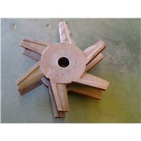 Rotors of fiber separator spare parts in paper making