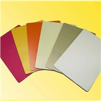 High Strength 4mm Aluminum Composite Wall Panels for Cladding Decoration