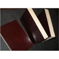 Marine grade 18mm brown film faced plywood with smooth surface