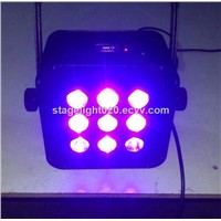 2015 NEW!!9X15W RGBAW UV color change LED light 6 IN 1 PAR CAN