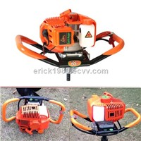 2-Stage Speed Shiting New Vortex Gearcase Earth Auger Drilling Machine