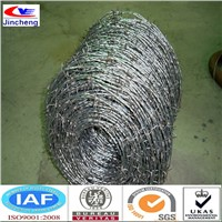 Galvanized and PVC Coated Iron Barbed Wire Made in China
