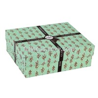 Glossy box paper cosmetic gift box