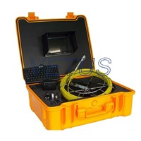 Sewer pipe inspection camera 710DLKC with 512HZ transmitter and DVR function