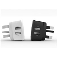 UK Main Wall USB Power Adapter Charger for Mobile Devices