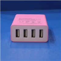 USB power adapters with 4 usb ports and smart IC
