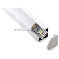 V Shape Surface Mounted LED Aluminum Profile/ LED Linear Strip Bar Light