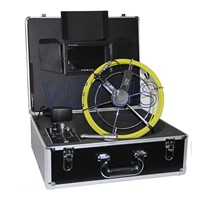 pipe inspection camera 710DKC with DVR function meter counter