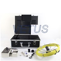 pipe inspection camera 710DL with DVR function and 512Hz transmitter