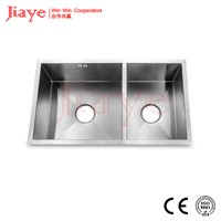 1.2mm thickness stainless handmade sink made in china for wholesale JY-7643L