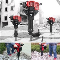 1.95kw gas powered hammer drill stone breaker concrete drill