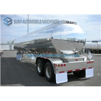 35000 L Ellipse Shape Two Axle Oil Tank Trailer