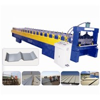Sheet Metal Forming Corrugated Aluminum Roof Panel Roll Forming Machine
