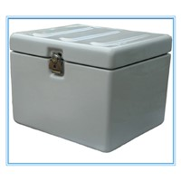 Fiberglass Motorcycle  Delivery Box with Rubber Cushion
