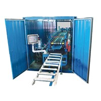 Movable 360 Degree Sealed Roof Panel Roll Forming Machine Rolling Machine