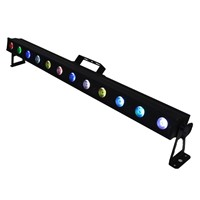 Pixel Control LED Linear BAR Wash Batten Club Stage Lighting With 12 x 10W 4in1 RGBW LED